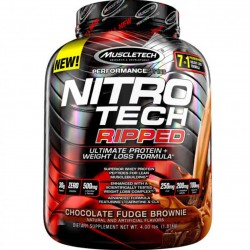NitroTech Ripped (4 lbs) - 42 servings