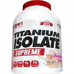 Titanium Isolate Supreme (5 lbs) - 75 servings